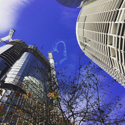 #sydney #cbd #city #love #sky #tourism #sky #hart #towers
