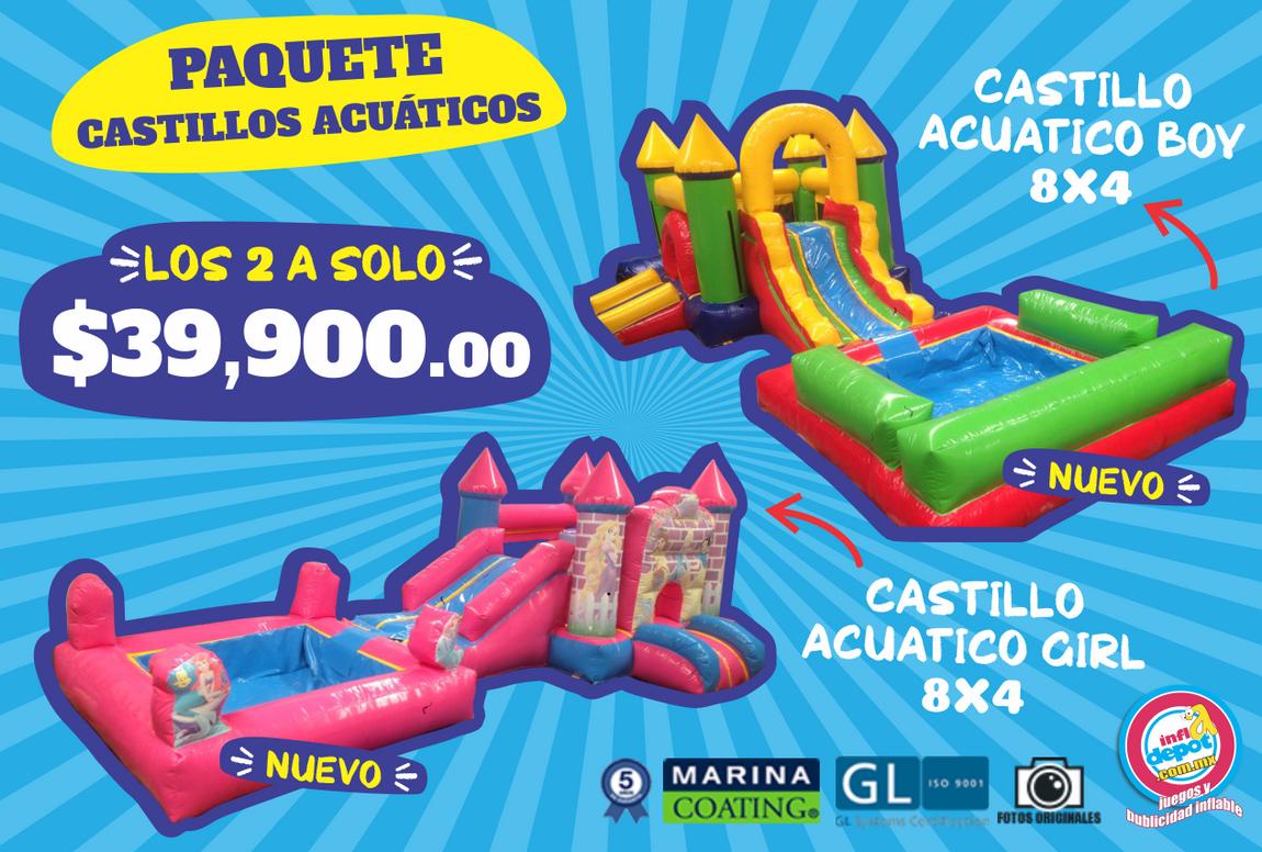 Paquete Castillos Acuáticos