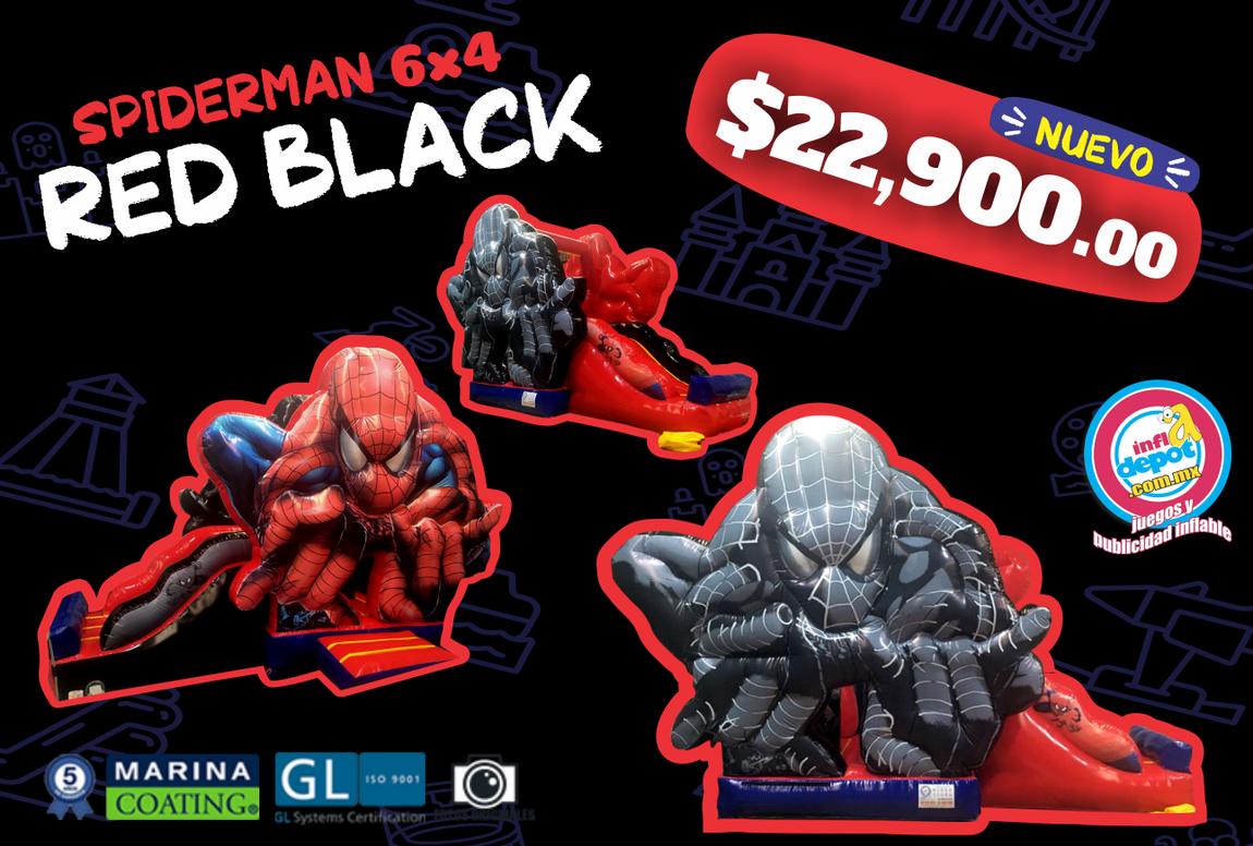 Spiderman Red Black