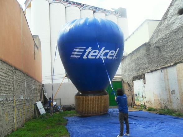 Réplica Globo Telcel 7mts