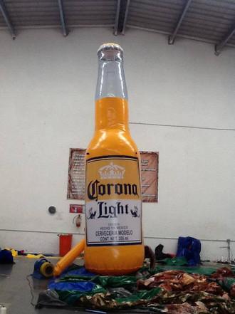 Replica Botella Corona Light 6 m. Altura