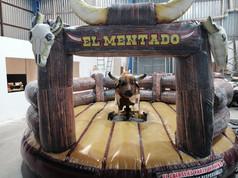 Toro c/piel cap 145 kilos-Colchón Wild West