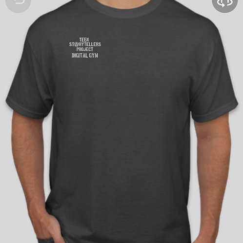 Grey TeenStorytellers Crew T-Shirt