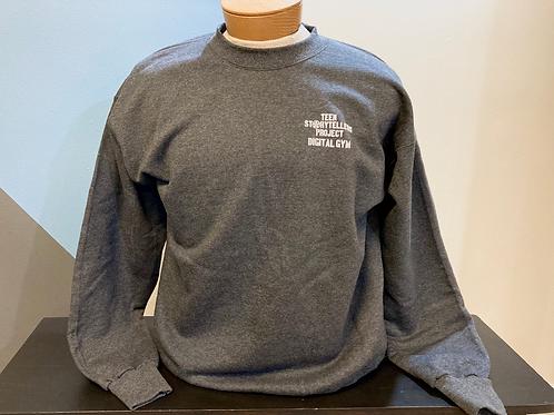 Grey TeenStorytellers Crew Sweatshirt