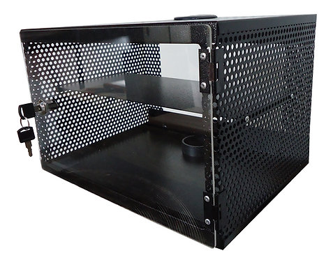 "GABINETE 10"" MICROPERFORADO REDES SWITCH DVR MODEM VIDEO VIGILANCIA"