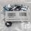 "Thumbnail: GABINETE RACK GALVANIZADO  12 UR X 19"" X 530  IP-65 CON CUBRE CELOSÍAS"