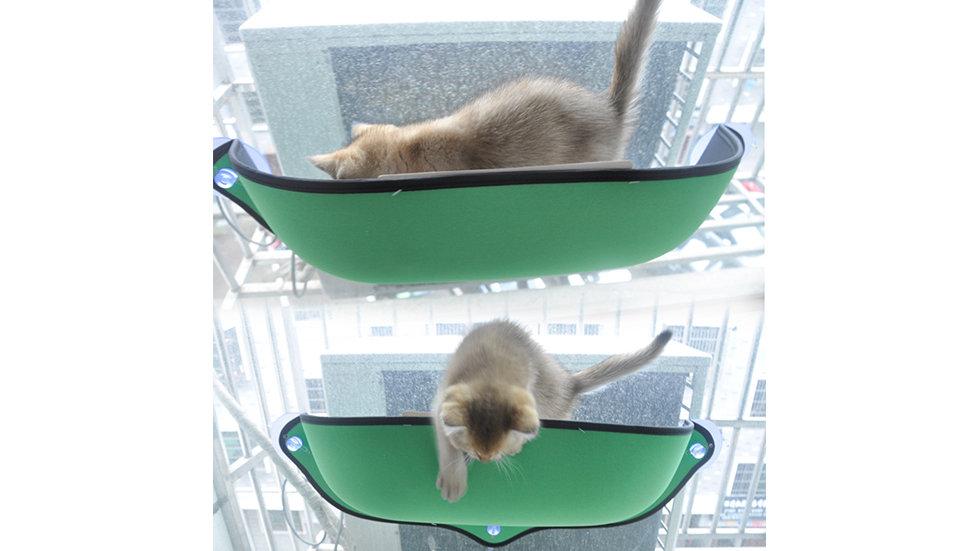 Sucked type cat window bed