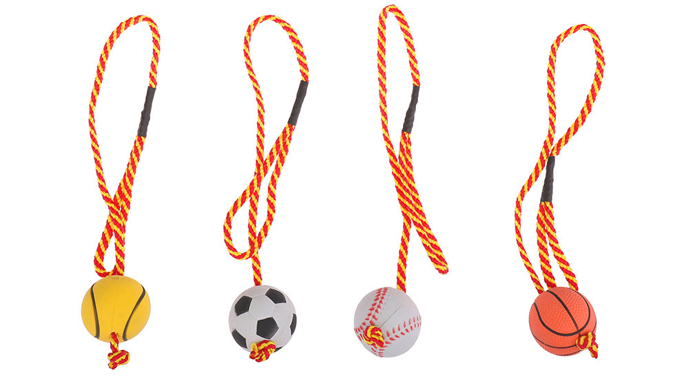 Ball on a rope
