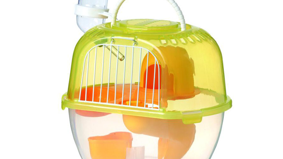 Apple style hamster cage