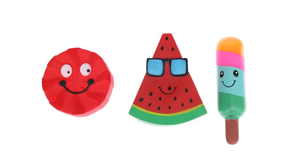 vinyl Cartoon cake,watermelon, ice cream