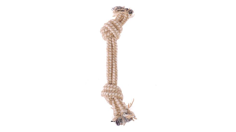 Jute-cotton rope pet toy
