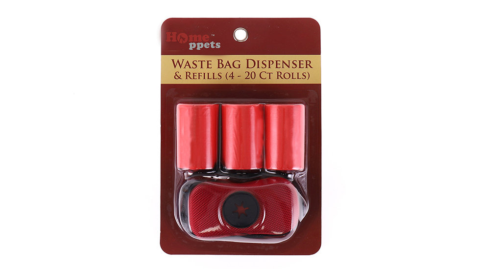 Waster dispenser with bags