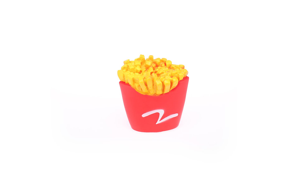 vinyl french fries toy