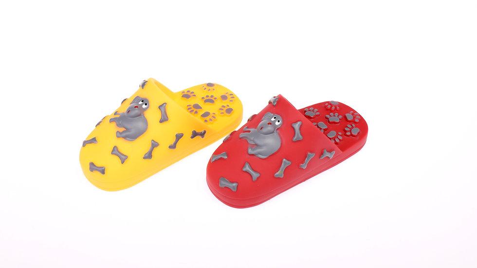 vinyl slipper toy