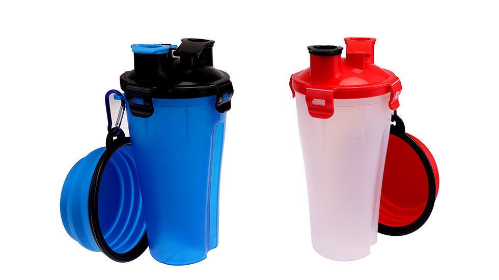 Travel 2 in1 Bowl and bottle
