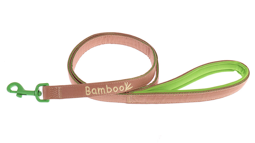 nylon bamboo dog leash
