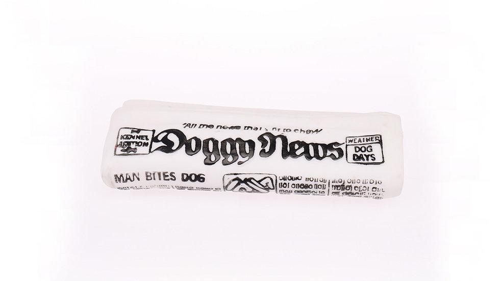 Vinyl newspaper toy
