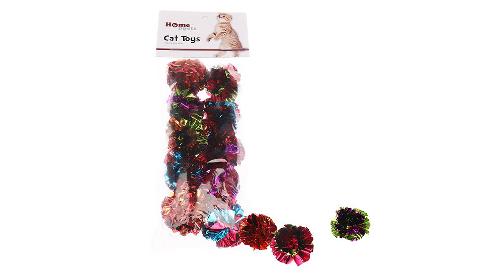 crinkle cat toy