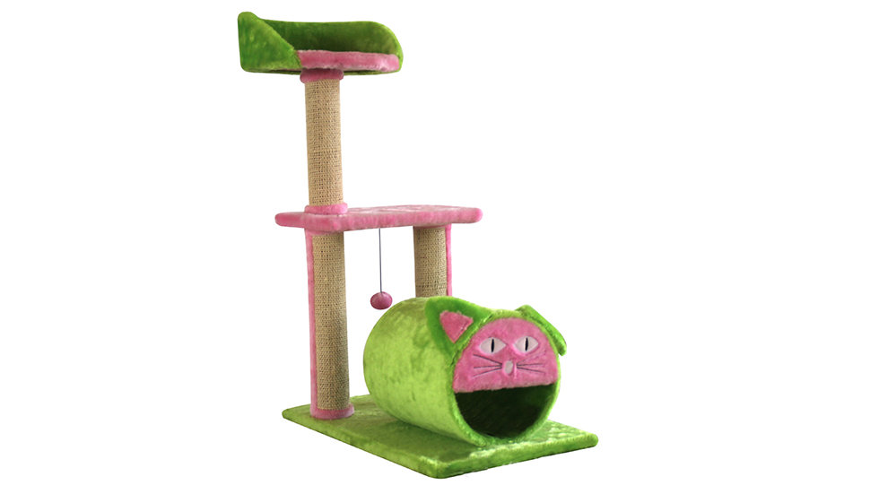 Cat tree whth cat head