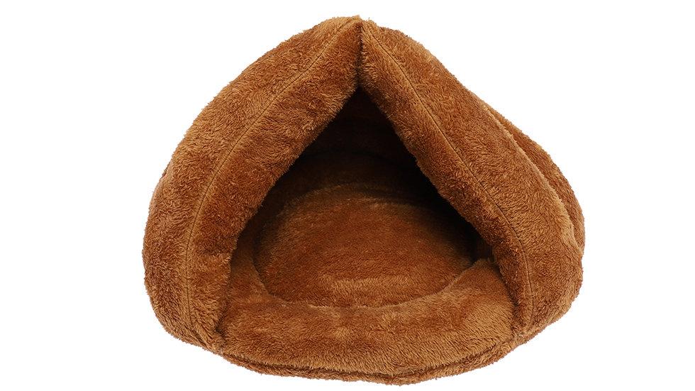 Pet tent shaped nest