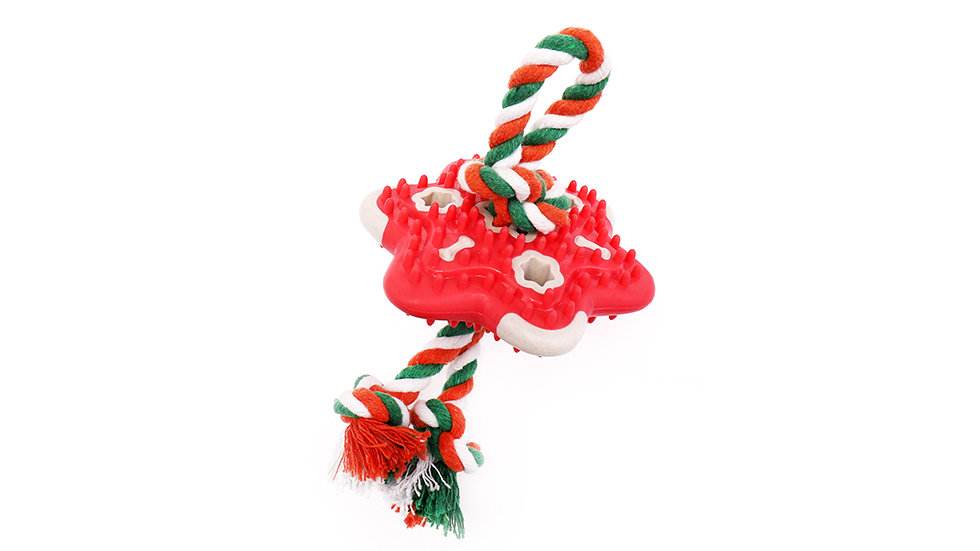 Colorful rope with sound star toy