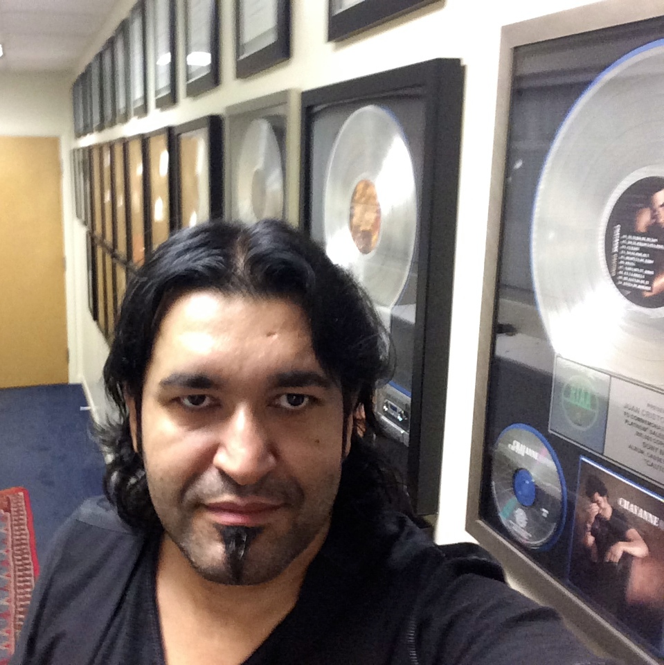 Golden Discs Selfie