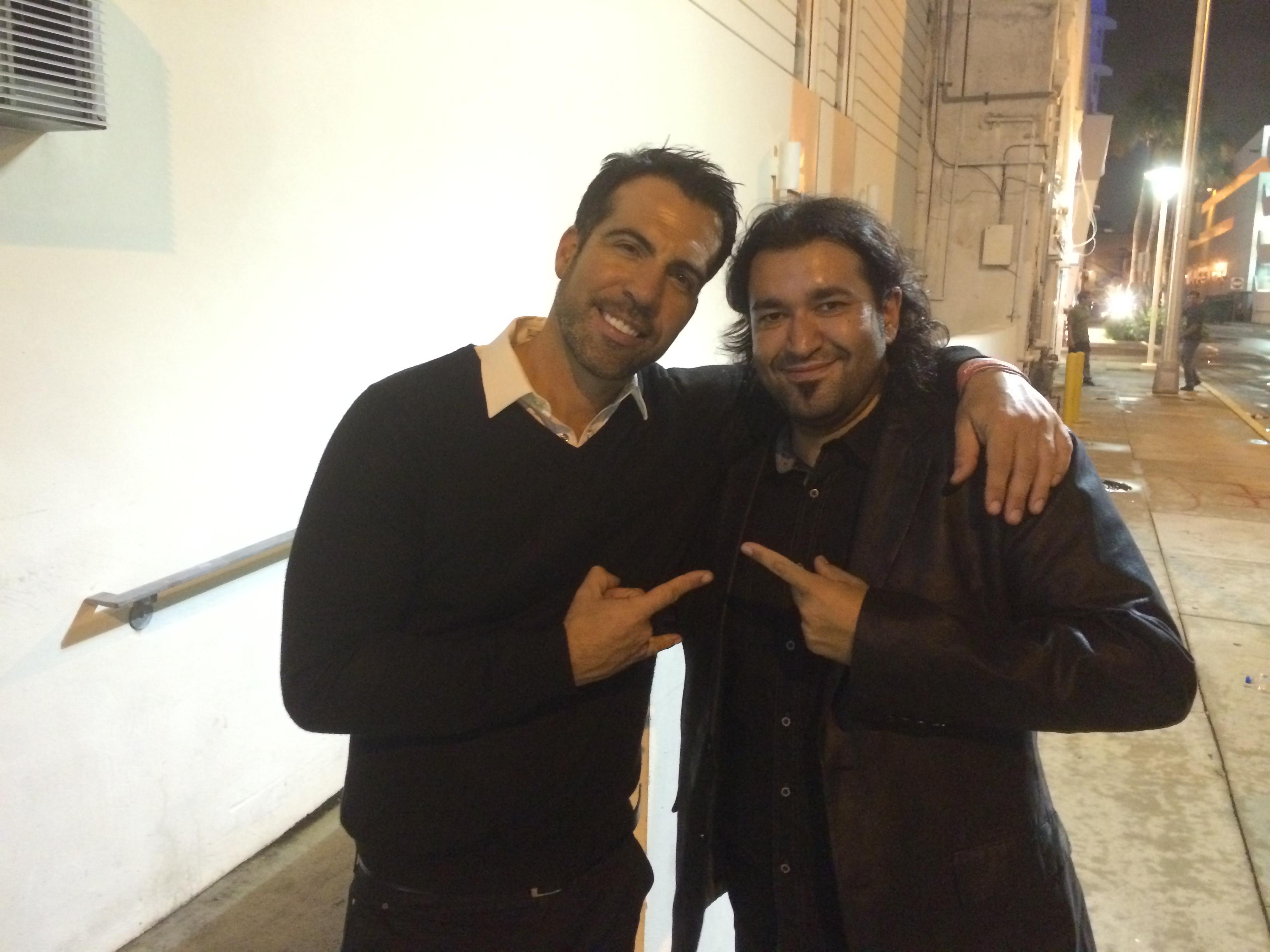 con Federico Viel
