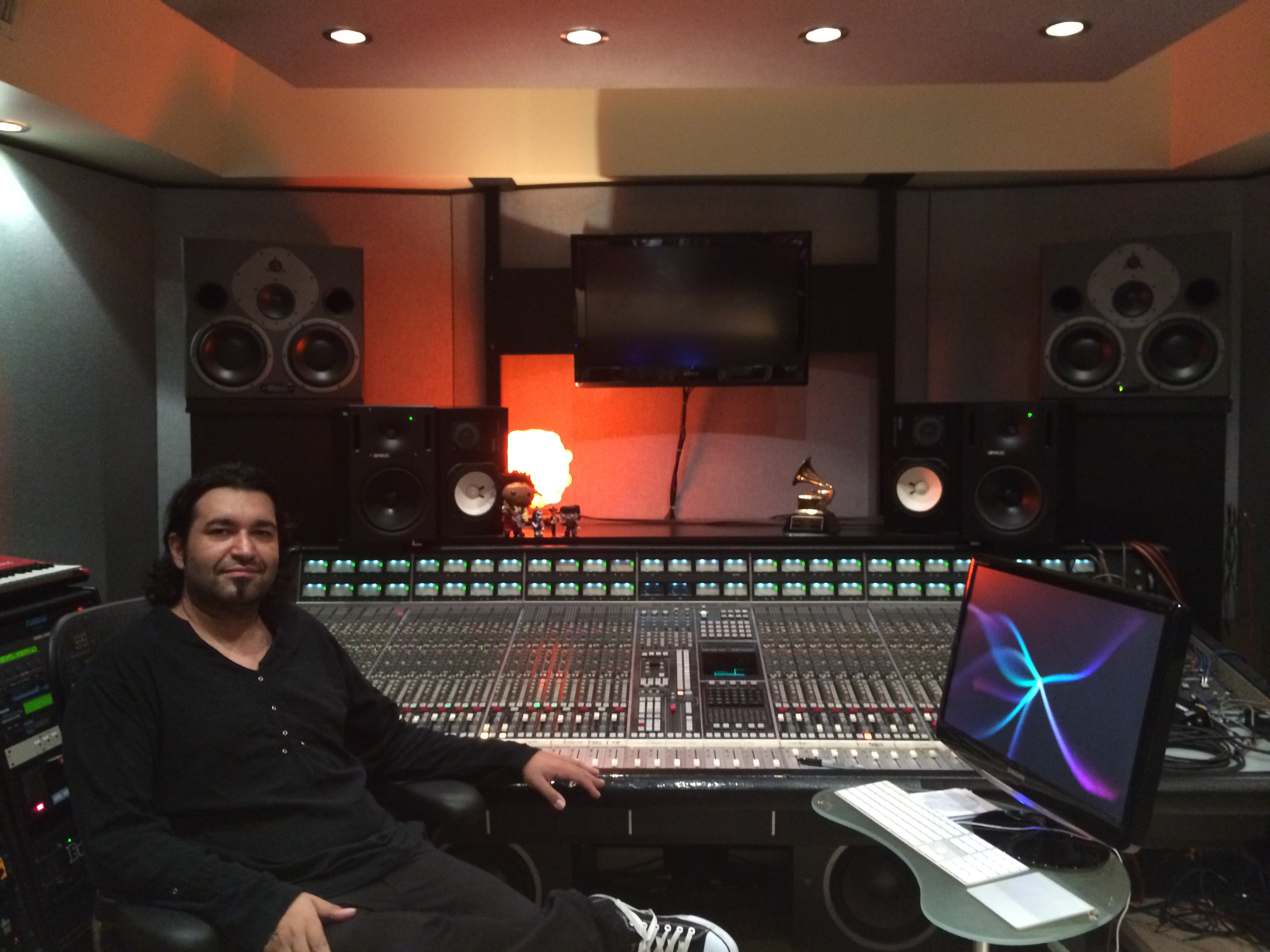 Adrian at Peermusic Studios Miami