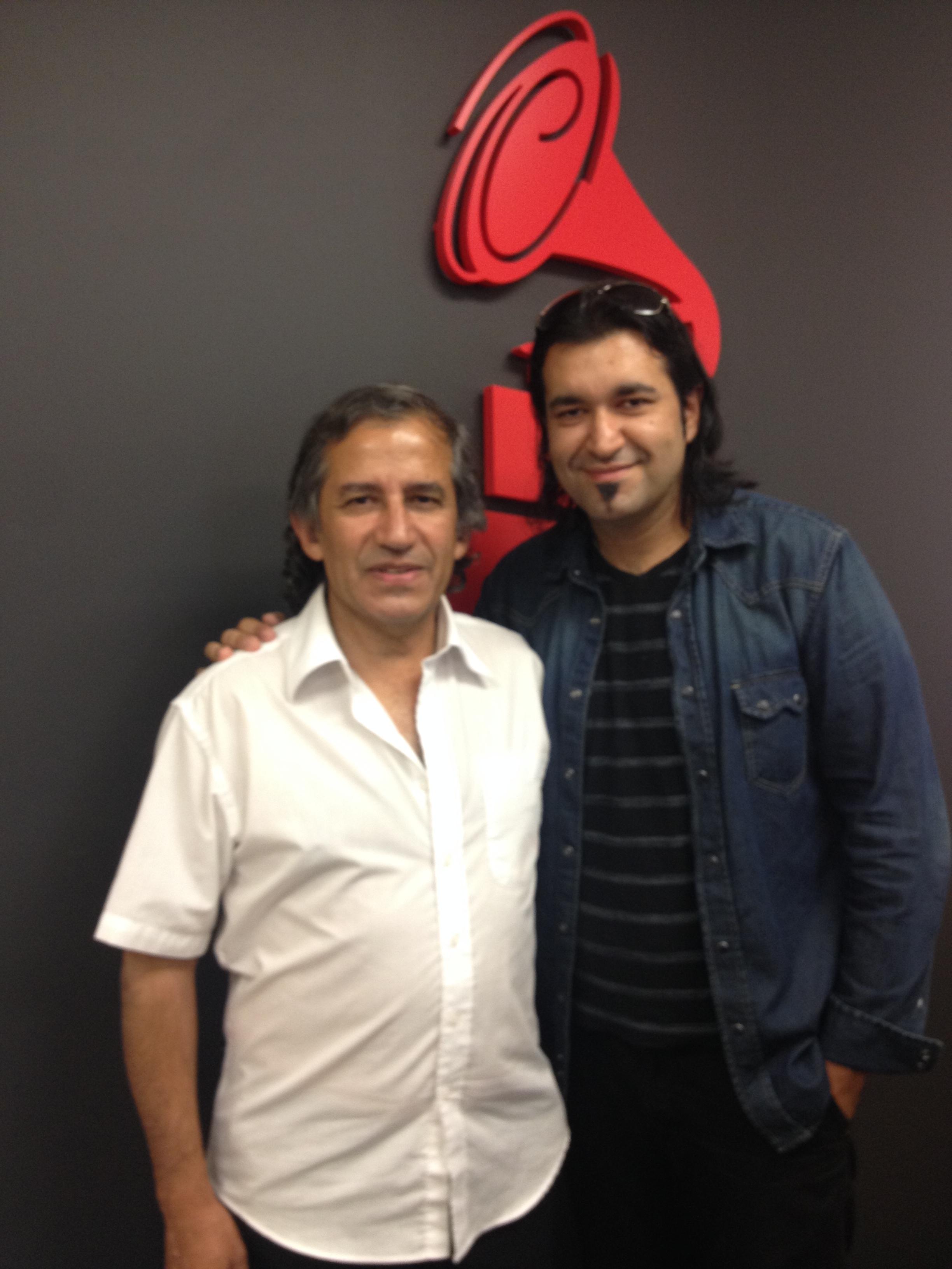 con mi padre