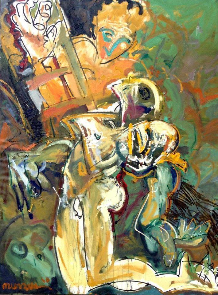 5 Spomen slika nepoznatog junaka- 170 x 140 cm- 2010 god.
