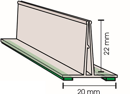 Fixa Placa em PVC