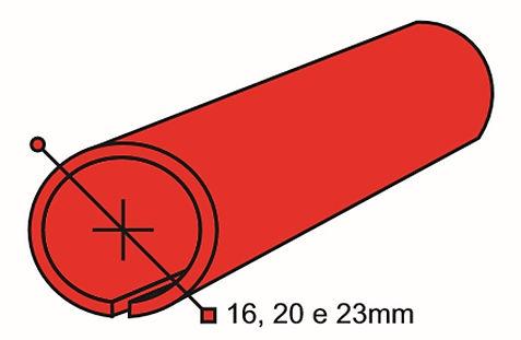 Perfil para acabamento de banners perfil plastico
