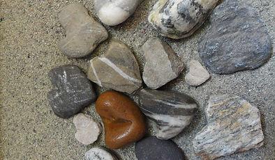 ...des coeurs de pierre!