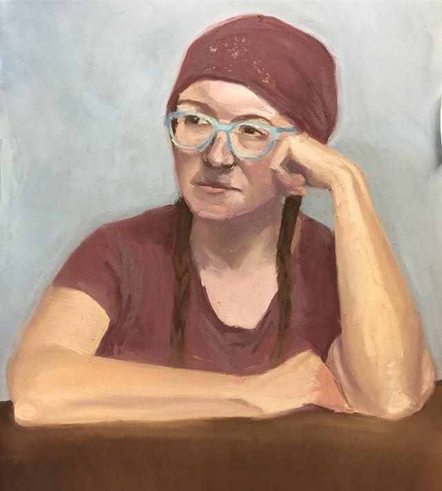Portrait of illustrator extraordinaire _