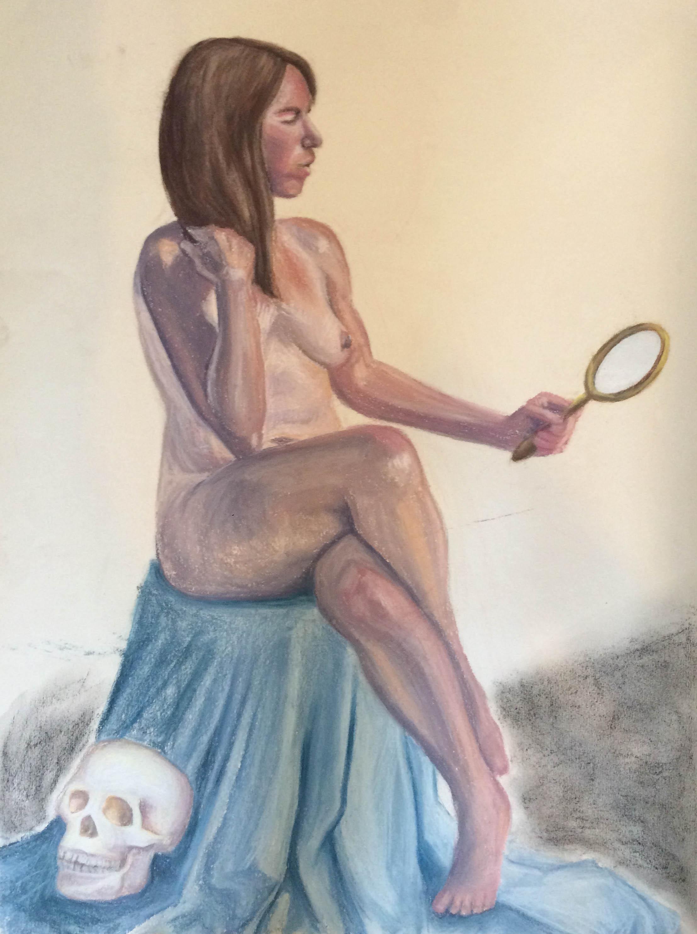 091016 Vanity JanetMirrorSkull