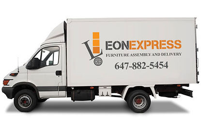 FURNITURE DELIVERY TRUCK