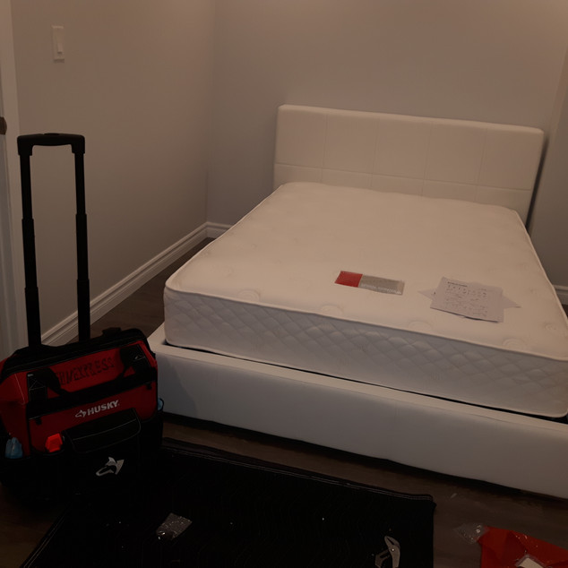 IKEA bed assembly