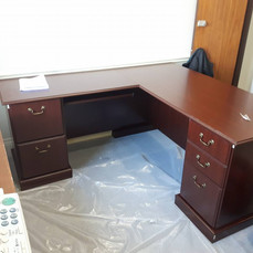 office desk assembly