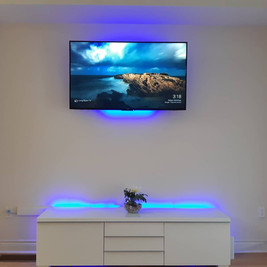 TV Wall Mount with LED light