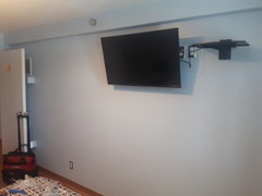 TV Installation and shelf wall mounting