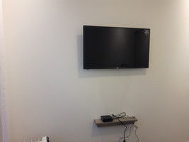 TV Installation and shelf mounting