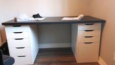 IKEA desk assembly