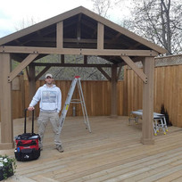 Gazebo assembly and installation