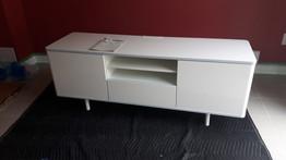 IKEA TV unit assembly