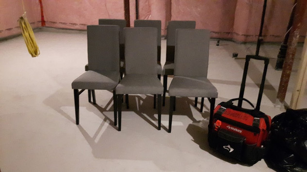 6 dining chairs assembly