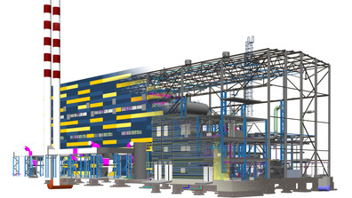 The Biomass Fired CHP Plant