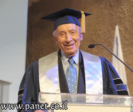 נשיא המדינה בטקס במכללת לוינסקי