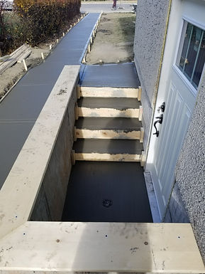 QC Construction | Calgary & Surrounding Areas | Basement Entrance Installation - Fire Escape Windows & Doors