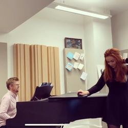 Rehearsals with Jon