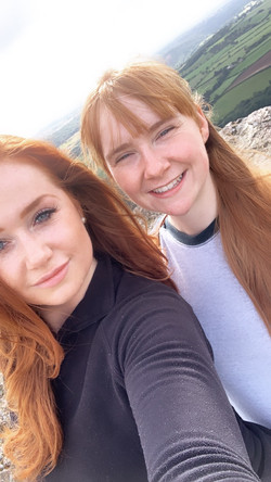 Sisters in Shropshire